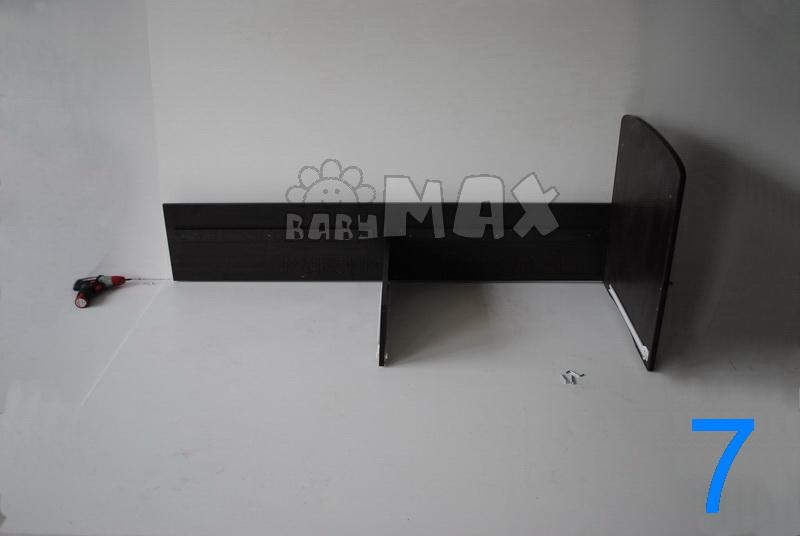 кроватка-трансформер в магазине сборка