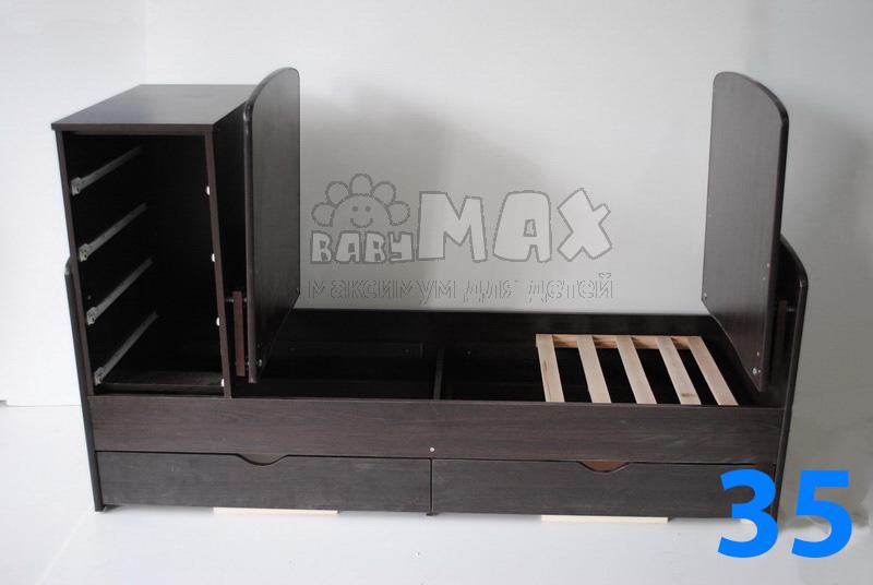 кроватка-трансформер сборка по кадрам