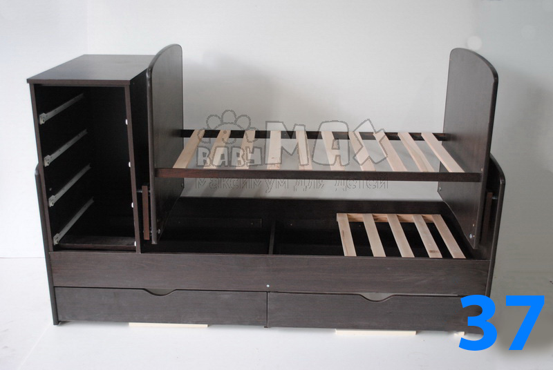 кроватка-трансформер сборка точная